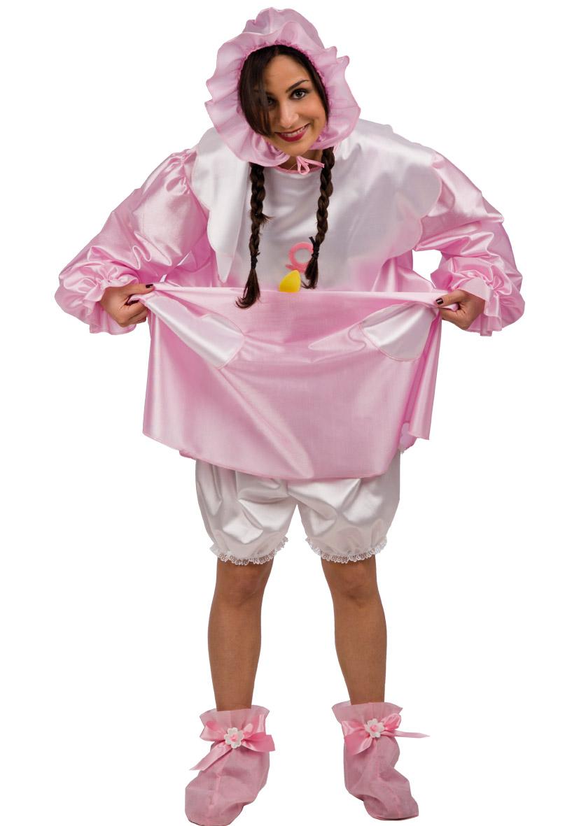 Costume da bebè rosa
