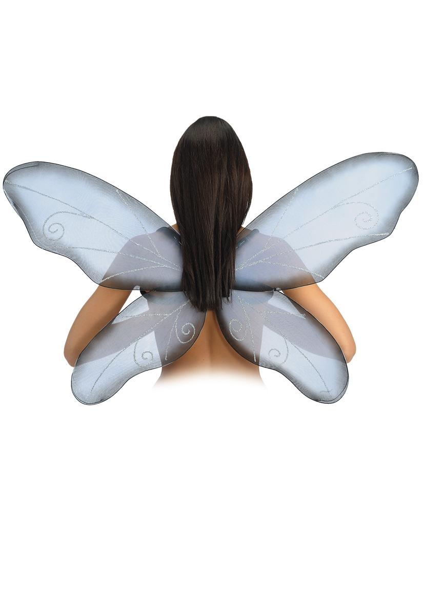 Ali farfalla grigia