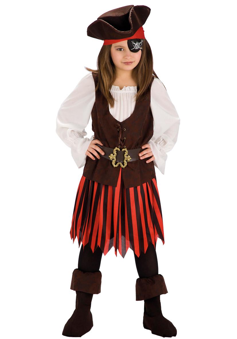 costume piratessa con fibbia