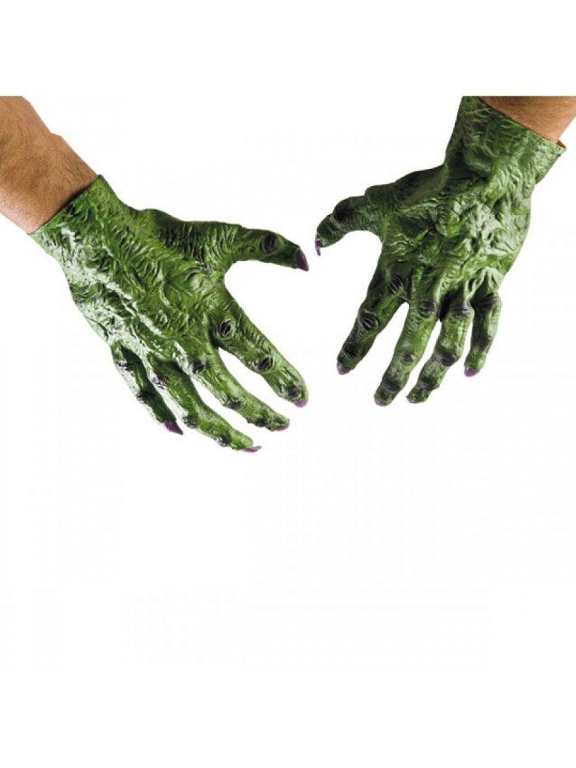 mani alieno verdi